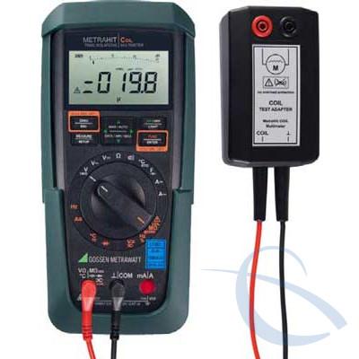 Мультиметр для определения межвиткового короткого замыкания и испытаний изоляции METRAHIT COIL
