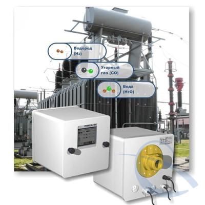 Прибор онлайн анализа растворенных газов и контроля влажности в трансформаторном масле HYDROCAL 1003