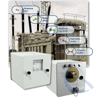 Система многостороннего анализа газов в масле с функциями мониторинга трансформатора HYDROCAL 1005