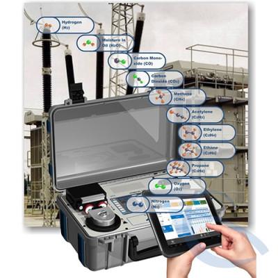 Портативный анализатор газов, растворенных в изоляционном масле трансформаторов HYDROCAL 1011 genX P