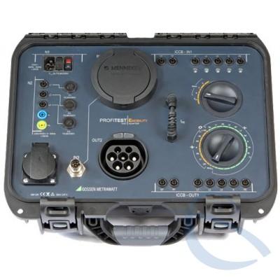 Испытательный адаптер для 1- / 3-фазных кабелей зарядных станций PROFITEST E-MOBILITY