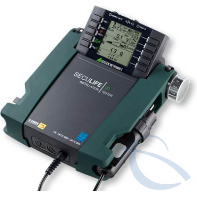 Контрольный прибор для тестирования защитных мер в электрических медицинских системах SECULIFE IP